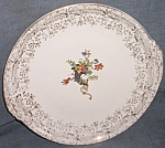 Click here to enlarge image and see more about item tw-60: Knowles Serving Plate Yorktown Horn of Plenty