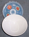 Click to view larger image of Juzan Gama Rice Bowl Matching Plate (Image1)