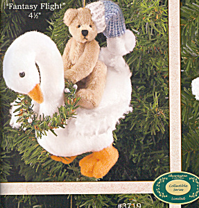 Bearington Teddy Bear FANTASY FLIGHT ORNAMENT (Image1)