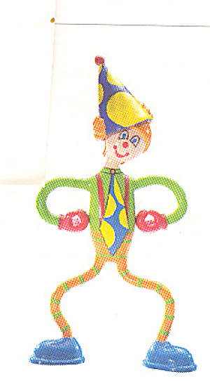 BENDOS TOY Collectible Action Figure TOOTS Clown (Image1)