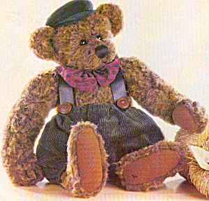 Cottage Collectibles Teddy Bear TEDDY ROUSSEAU (Image1)
