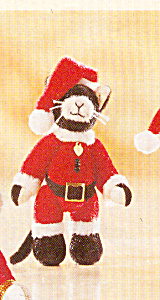 Cottage Collectibles Santa Claws Cat