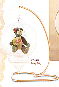 Cottage Collectibles BERRY FAIRY BEAR ORNAMENT (Image1)