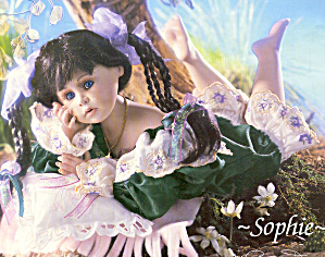 Cottage Collectibles Porcelain Artist Doll SOPHIE (Image1)