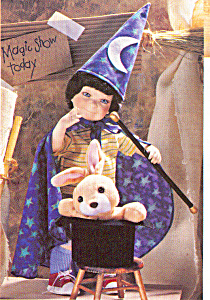 Cottage Collectibles Porcelain Doll MAGIC BOY (Image1)