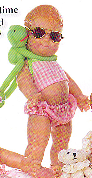 The Doll Maker Lovie Dovie Doll Summertime Toad