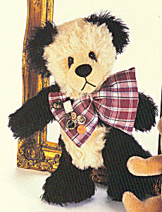 Effanbee Bear Essentials Collectible Mohair Teddy