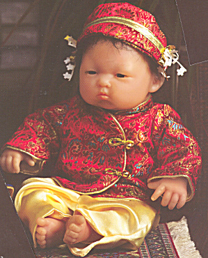 Berenguer Oriental Doll Baby Olivia