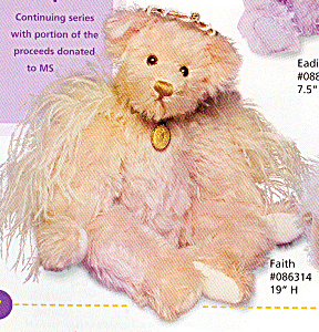 Knickerbocker Annette Funicello Angel Teddy Bear