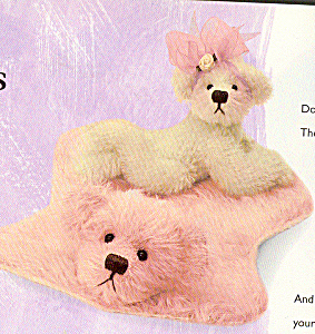 Annette Funicello Collectible Mohair Teddy Bear (Image1)