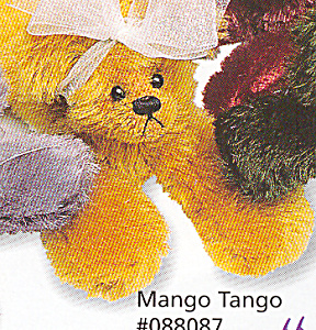 Bears Annette Funicello Mango Tango Bear Bean Bag Collection Annette Funicello
