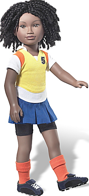 Karito Kids Collectible Play Doll Lulu From Kenya