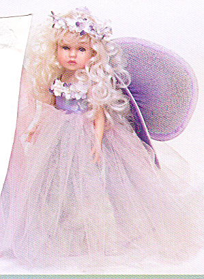 Key to My Heart Doll FAIRY DUST by Artist Linda Rick (Image1)