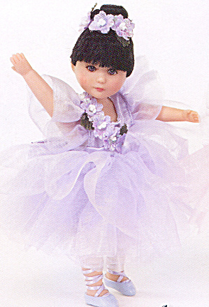 Lee Middleton Moments Doll Sugar Plum