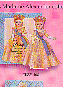 Madame Alexander Paper Doll Cissy