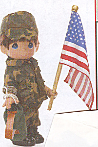 Precious Moments Collectible Doll FREEDOM DEFENDER (Image1)