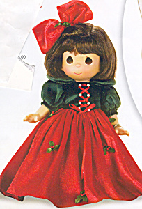 Precious Moments Doll Snow Whites Christmas Dreams (Image1)