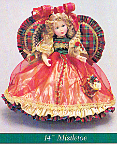 Pittsburgh Originals Doll Mistletoe