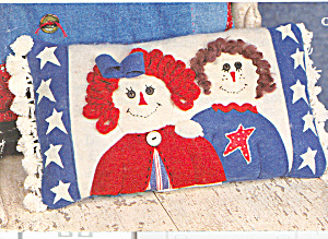 Raggedy Ann and Andy Friends PILLOW (Image1)