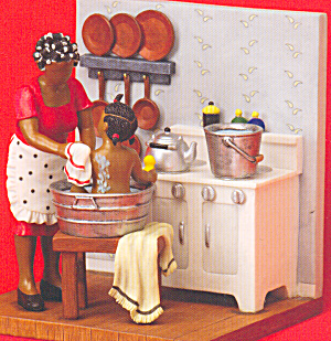 Sandy Dolls and Figurines African American Bathing (Image1)