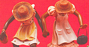 Sandy Dolls and Figurines African American Gettin to (Image1)