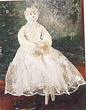 Snow Princess Holiday Christmas Doll