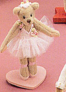 World of Miniature Bears GISELLE Ballerina Teddy Bear (Image1)