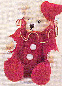 World Of Miniature Bears Mohair Teddy Bear Ruby