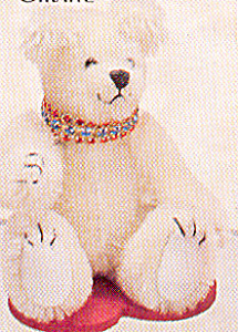 World Of Miniature Bears Mohair Teddy Bear Sparkle