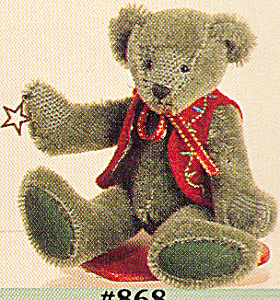 World of Miniature Bears Mohair Teddy Bear YULE (Image1)