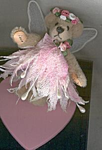 World of Miniature Bears BEVIE Angel Teddy Bear (Image1)