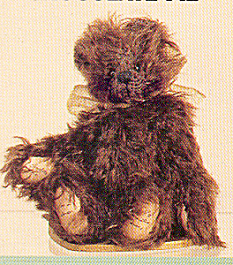 World of Miniature Bears CHOCOLATE PIE Mohair Teddy (Image1)