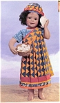 Click here to enlarge image and see more about item ADG1: Ashton Drake Georgetown Porcelain Doll Mariama