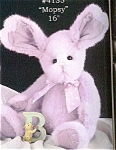 Click here to enlarge image and see more about item BB11: Bearington Rabbit  MOPSY