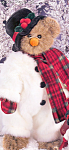 Click here to enlarge image and see more about item BB15: Bearington Teddy Bear WILLIE MELT