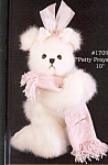 Bearington Teddy Bear PATTY PRAYSMORE