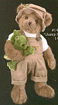Click here to enlarge image and see more about item BB56: Bearington Teddy Bear JUMP and JACK