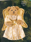 Click here to enlarge image and see more about item BB61: Bearington Angel Teddy Bear STARLA