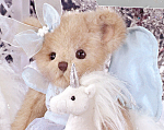 Click here to enlarge image and see more about item BB70: Bearington Collectible Teddy Bear Fantasia with Fantasy