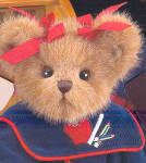 Click to view larger image of Bearington Collectible Teddy Bear ADDIE (Image2)
