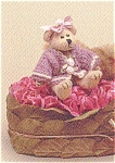 Click here to enlarge image and see more about item BB9: Bearington Teddy Bear Miniature JENI