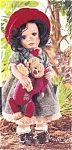 Click here to enlarge image and see more about item CCDOLL3: Cottage Collectibles Porcelain Artist Doll NAOMI