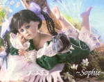 Click here to enlarge image and see more about item CCDOLL4: Cottage Collectibles Porcelain Artist Doll SOPHIE
