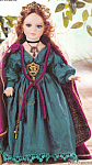 Click here to enlarge image and see more about item CCDOLL5: Cottage Collectibles Porcelain Artist Doll EL'ENNAH