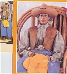 Click here to enlarge image and see more about item DLL4: Daddy's Long Legs African American Doll Sweet Savannah