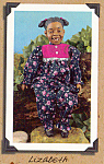 Click here to enlarge image and see more about item DLL9: Daddy's Long Legs African American Doll LIZABETH