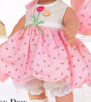 Click to view larger image of The Doll Maker Lovie Dovie Doll Dovey Dew (Image3)