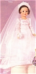 Click here to enlarge image and see more about item FANDB6: Effanbee Dolls Lauren Bride Doll