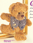 Click to view larger image of Effanbee Bear Essentials Collectible Mohair Teddy (Image1)