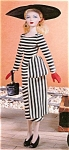 Click here to enlarge image and see more about item GeneD6: Ashton Drake Gene Fashion Doll LUCKY STRIPE